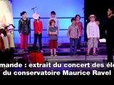 Marmande : extrait du concert des élèves du conservatoire
