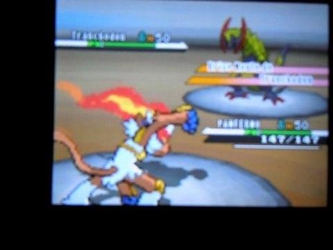 Ligne Super Solo - Combat contre le maître du métro Chammal Pokemon Noir & Blanc