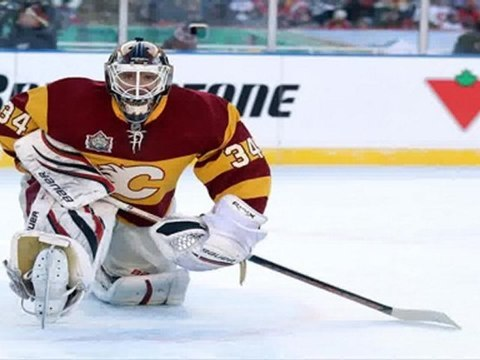 Kipper shuts out Montreal Canadiens at Heritage Classic in Calgary Alberta Canada 2011.