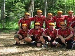 Klettergarten - 10 Jahre Seniorenfußball Treffling