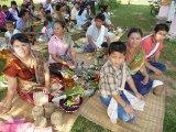 Cérémonie Défunts LAOS