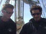 LE BELEM - Traversée Bayonne Nantes - Mai 2011 - Vieux gréement - Entretiens avec l'équipage - Leçon de navigation et matelotage -  part 2 - Bayonne Nantes - mai 2011