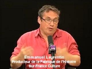 Emmanuel Laurentin producteur de l'émission La Fabrique de L'histoire sur France Culture