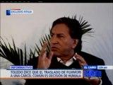 """""""Si Humala sigue los pasos de Chávez perderá el apoyo de Perú Posible"""": Alejandro Toledo [Video 2/3]"""