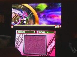 Frogger 3D - gameplay off-screen de Frogger 3D