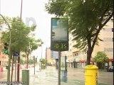 Sevilla amanece con lluvias y mal tiempo
