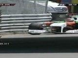Formule 1 Canada 2011 EL 2 Crash Sutil