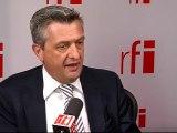 Filippo Grandi, commissaire général de l'Office de secours et de travaux pour les réfugiés de Palestine dans le Proche-Orient (UNRWA)