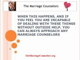 Marriage Counselors Can Help Save Your Marriage
