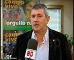 Los agricultores valoran a Aguilar