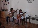 Duo de guitare avec Agathe