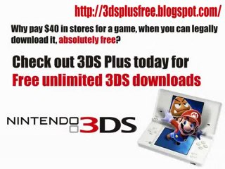 Unlimited Nintendo 3DS Free Games Downloads