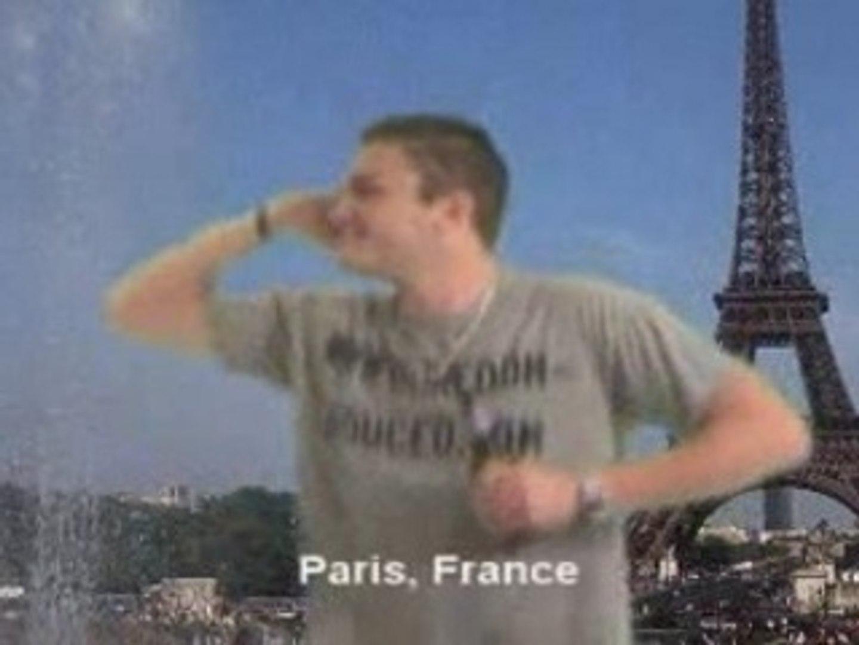 Chase Dances Around the World...