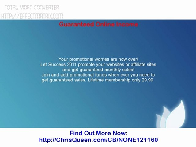 Guaranteed Online Income