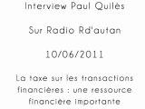 Paul Quilès - Radio R d'Autan -  10/06/2011 - partie 2