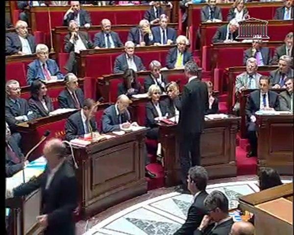Question au Gouvernement Raymond Durand 14/06/2011 sur l'aide aux agriculteurs