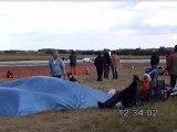 Crash énorme avion rc à turbines