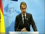 Zapatero no hace propaganda de Otegi
