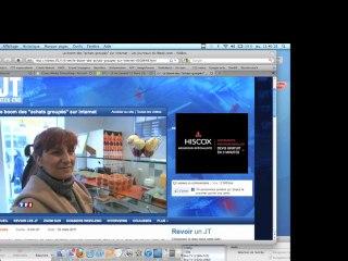 Reportage TF1 Groupon