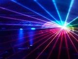 Show laser RGB et lumières  pour mariage