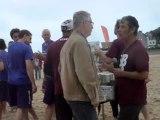 """Le Pouliguen, Yes But NAU, BEACH ULTIMATE, du 11 12 13 Juin 2011, """" wikinews city"""" , pour : """" http://rencontres-sportives-lepouliguen.blogspot.com/ """" & """"  OMS le Pouliguen » , vidéo n° 3722"""