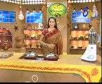 Abhiruchi - Recipes - Pudina Alu Capsicum, Badam Naan & Ragi pindi Bondalu - 03