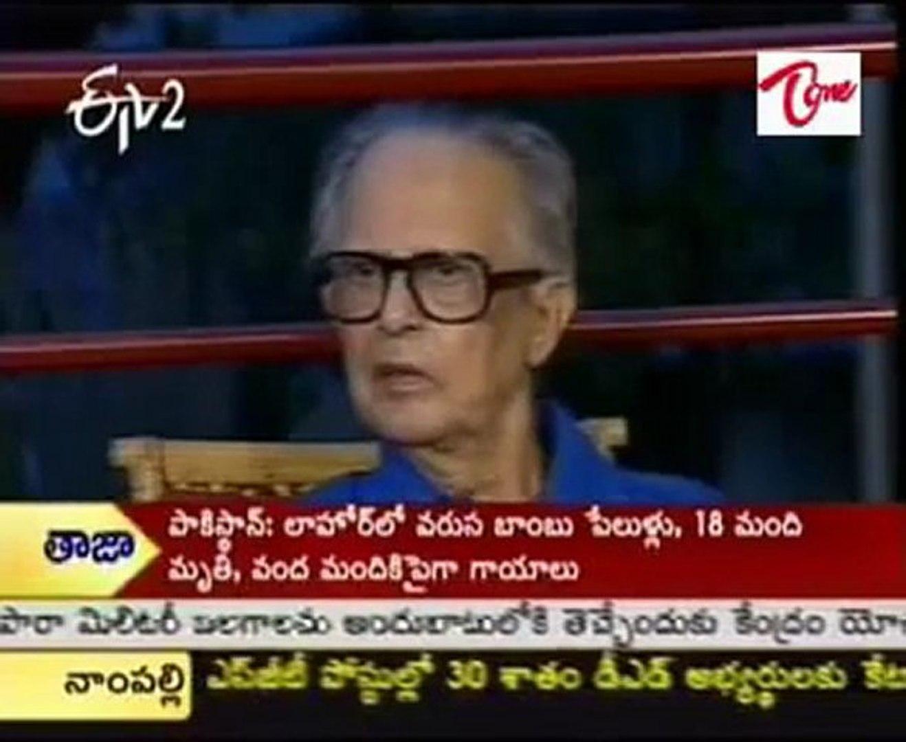 Margadarsi - Your favorite Indian TV show, Cartoonist R.K.Laxman-Part02