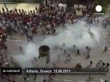 Grèce : violents affrontements entre... - no comment