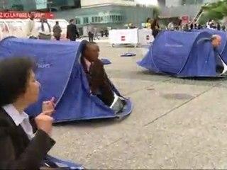 FlashMob pas de droits sans toit