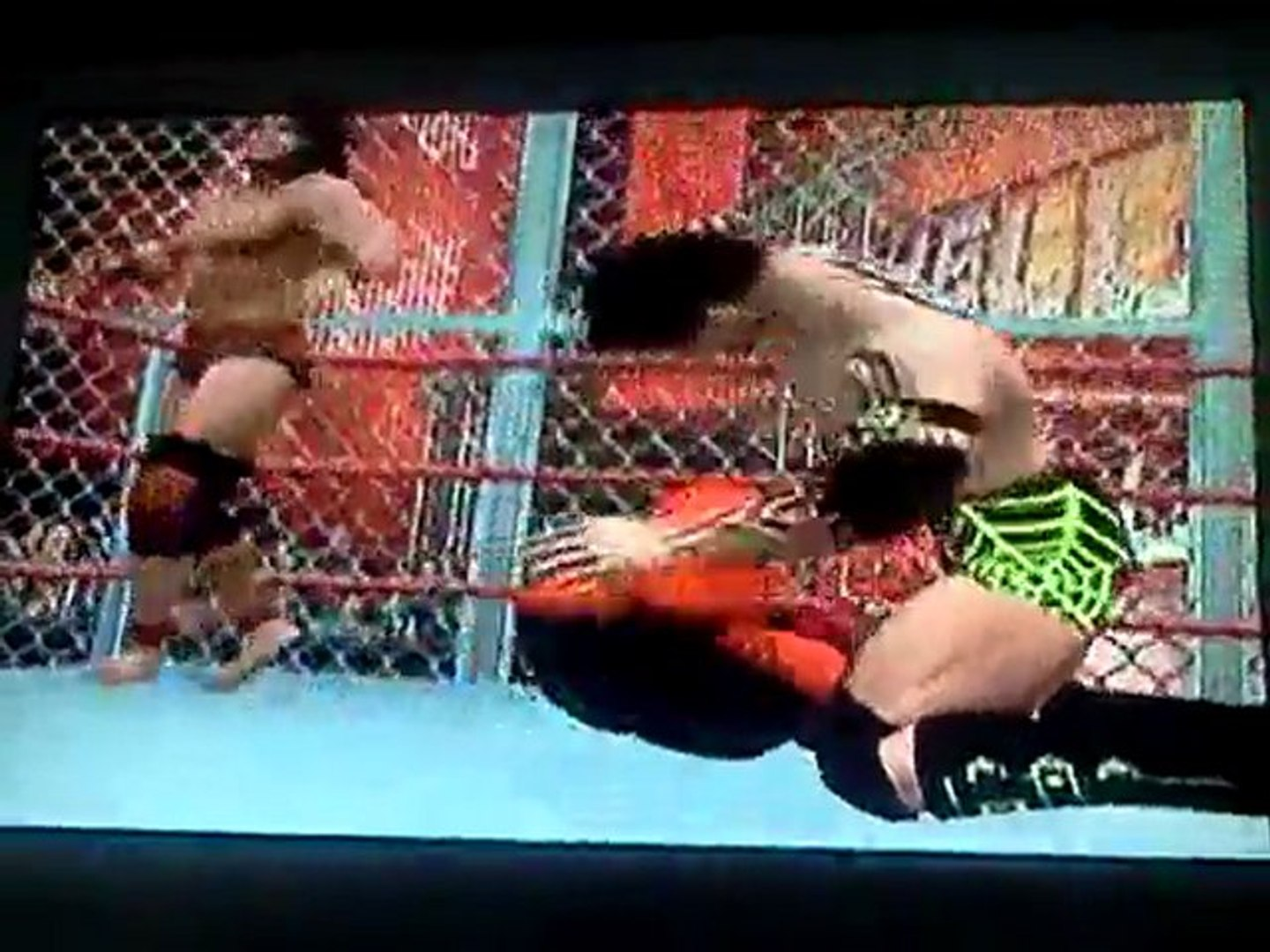 Hell in a Cell ~ Intercontinental Championship ~ Hell In A Cell Match ~ L'Ange de Sang vs Jimmy
