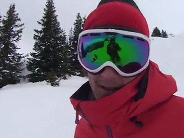 Nike Snowboarding team in LAAX