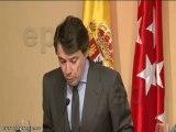 """Aguirre: """"Los españoles no aceptamos que nos tomen como rehe"""