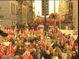 Manifestación contra la reforma laboral