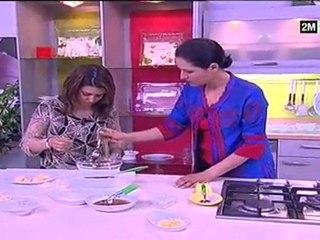 Recettes cuisine : Gâteaux Marocains Halawiyat choumicha - petits fours au sésame