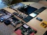 Dépannage d'un PC Portable HP pavilion DV9610 pour cause de Carte mere HS,changement de la carte mere,néttoyage du systeme puis test