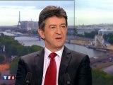 Jean-Luc Mélenchon candidat officiel du Front de Gauche Invité du journal de 20H de TF1 le 19/06/2011