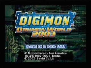 Digimon World 2003 walkthrough 1 - Le Monde Digital