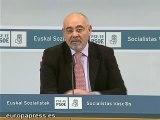 Jose Antonio Pastor (PSE) sobre el comunicado de ETA