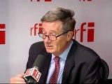 Pierre Lequiller, président de la Commission chargée des Affaires européennes à l'Assemblée nationale française