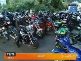 Répression routière: les motards en colère (Lyon)