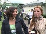 Los aficionados al tenis acuden al primer día de Wimbledon