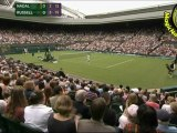 SET1 Rafael Nadal vs Michael Russell R1 WIMBLEDON 2011 [Highlights by Courtyman]
