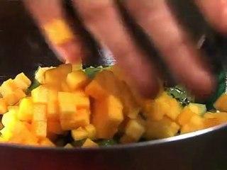 Recette: Minestrone de fruits frais au sirop épicé