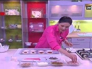 Recette de Mini-quiches ou mini-pizzas choumicha ramadan 2011 - Une recette de Cuisine Mini pizza choumicha ramadan 2011 aux oignons - Recettes de cuisine Italienne
