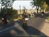 Crash moto vs moto