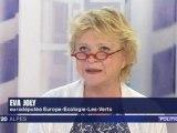 Primaires de l'écologie : Eva Joly sur le plateau de France 3 Alpes - 1ère partie