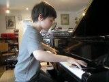 Ilan Zajtmann,10 ans, joue la Leggierezza deLiszt