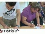 Cérémonie de parrainage de jeunes majeurs sans-papiers à Saint Quentin en Yvelines