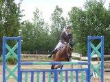 Candice et Jamour - CSO Grand Prix Club 1 - 19/06/2011 - Poney club de Villedieu