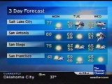 TWC Satellite Local Forecast from April 2008 Daytime #14
